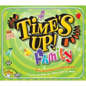 TIME'S UP FAMILY ΕΠΙΤΡΑΠΕΖΙΟ ΚΑΙΣΣΑ ΠΑΙΚΤΕΣ 4-10 8+