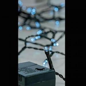 240 LED ΣΕ ΣΕΙΡΑ ΜΕ ΠΡΑΣΙΝΟ ΚΑΛΩΔΙΟ ΣΕ ΛΕΥΚΟ LED ANA 5 EKATOΣΤΑ IP44