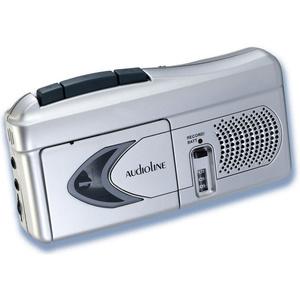 Δημοσιογραφικό Κασετόφωνο με Ενσωματωμένο Μικρόφωνο και Υποδοχή Ακουστικών AUDIOLINE MCR 926