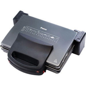 TOASTER-GRILL 1700W WITH REMOVABLE PALTES OF 4 TOSTS PRIMO YD 881