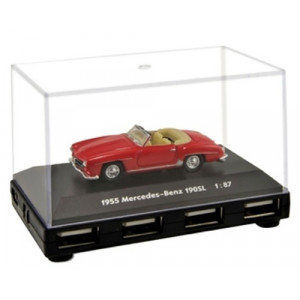 USB 2.0 hub 4 θύρες MERCEDES 190SL AUTODRIVE ADHU-MER 100RE