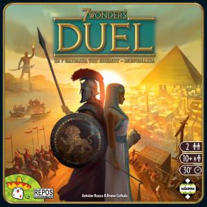7 WONDERS: DUEL (ΕΛΛΗΝΙΚΗ ΕΚΔΟΣΗ) ΕΠΙΤΡΑΠΕΖΙΟ ΚΑΙΣΣΑ ΠΑΙΚΤΕΣ 2 10+