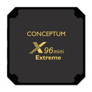 Conceptum Mini Extreme TV BOX X96 - ANDROID 7.1 - S905W Quad Core - 2GB RAM - 16GB ROM - 4K
