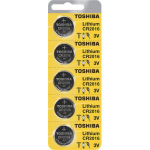 ΜΠΑΤΑΡΙΕΣ ΛΙΘΙΟΥ CR2016 TOSHIBA BP-5 (5 TMX)