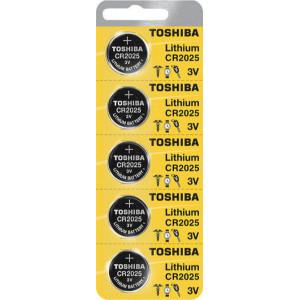 ΜΠΑΤΑΡΙΕΣ ΛΙΘΙΟΥ CR2025 TOSHIBA BP-5 (5 TMX)