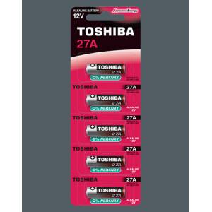 ΑΛΚΑΛΙΚΕΣ ΜΠΑΤΑΡΙΕΣ 27A TOSHIBA  BP-5 (5 ΤΜΧ)