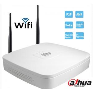 DAHUA NVR4104-W Wireless NVR 4 IP Καναλιών 1080P Realtime 56Mbps Bandwidth H.264