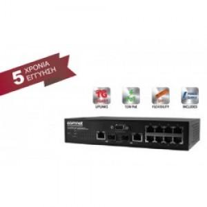 PoE Ethernet Switches COMNET CWGE2FE8MSPOE (ΕΩΣ 12 ΑΤΟΚΕΣ ΔΟΣΕΙΣ)