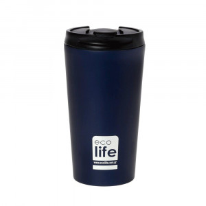 ECOLIFE COFFE THERMOS 370ML blue-black 33-BO-4016