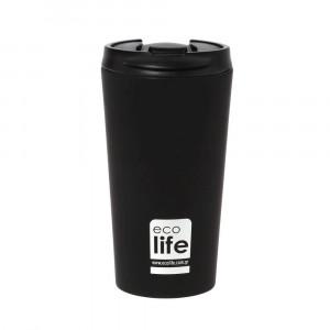 ECOLIFE COFFE THERMOS 370ML black 33-BO-4015