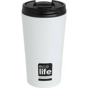 ECOLIFE COFFE THERMOS 370ML WHITE 33-BO-4103