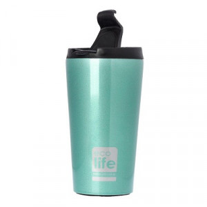 ECOLIFE COFFE THERMOS 370ML LIGHT BLUE 33-BO-4001 -1140