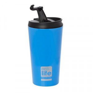 ECOLIFE COFFE THERMOS 370ML SKY BLUE 33-BO-4012
