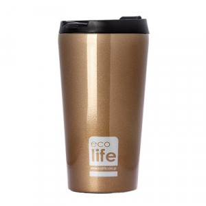 ECOLIFE COFFE THERMOS 370ML BRONZE 33-BO-4002 -1157