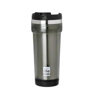 ECOLIFE COFFE THERMOS 420ML GREY 33-BO-4010