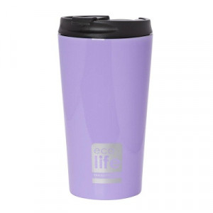 ECOLIFE COFFE THERMOS 370ML LILAC 33-BO-4013 -1645
