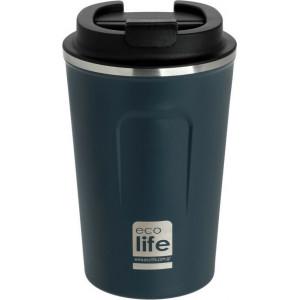 ECOLIFE NEW COFFEE THERMOS 370ML DARK BLUE 33-BO-4106