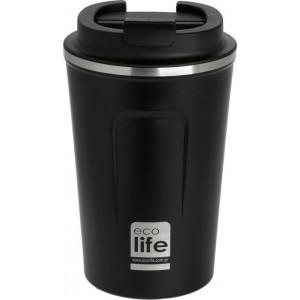 ECOLIFE NEW COFFEE THERMOS 370ML DARK GREY 33-BO-4105
