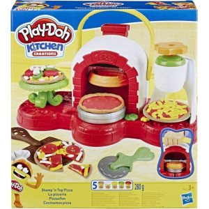 HASBRO PLAY-DOH - KITCHEN CREATIONS STAMP 'N TOP PIZZA