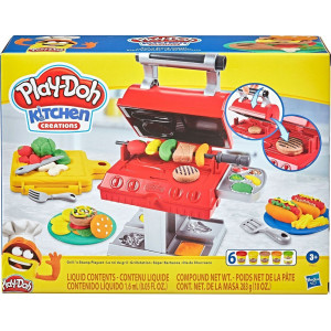 HASBRO PLAY-DOH ΣΕΤ ΨΗΣΤΑΡΙΑΣ GRILL N STAMP