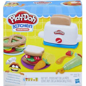 ΠΑΙΧΝΙΔΙ ΜΙΜΗΣΗΣ ΚΑΙ ΔΗΜΙΟΥΡΓΙΑΣ Hasbro Play-Doh Toaster Creations 00390