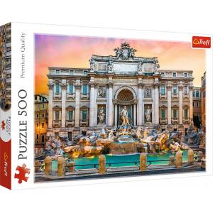TREFL PUZZLE 500PCS FONTANNA DI TREVI,ROME 817-37292
