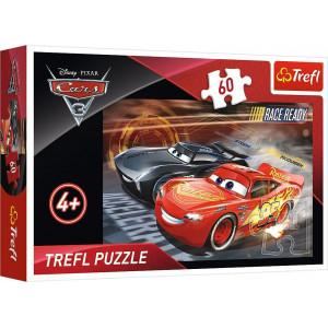 TREFL PUZZLE 60PCS CARS 3 817-17297