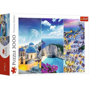 ΠΑΖΛ TREFL 3000ΤEM. GREEK HOLIDAYS 817-33073