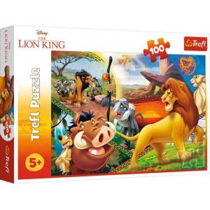 TREFL PUZZLE 100PCS THE LION KING 817-16359