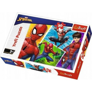 TREFL PUZZLE 30PCS SPIDERMAN AND MIGUEL 817-18242