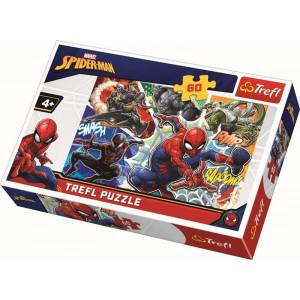 TREFL PUZZLE 60PCS SPIDERMAN THE BRAVE 817-17311