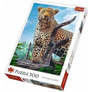 ΠΑΖΛ TREFL 500 Pcs Wild Leopard (817-37332)