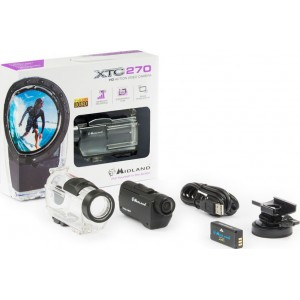 MIDLAND XTC 270 FULL HD ACTION CAMERA (Εως 3 ατοκες)