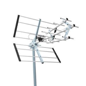 ΚΕΡΑΙΑ ΕΞΩΤ.ΧΩΡΟΥ 35 dB TELCO UHF-366  ΜΑΥΡΗ