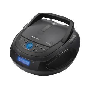 ΦΟΡΗΤΟ ΡΑΔΙΟ-CD PLAYER MP3 USB BLUETOOTH AUDIOLINE CD1012A ΜΑΥΡΟ