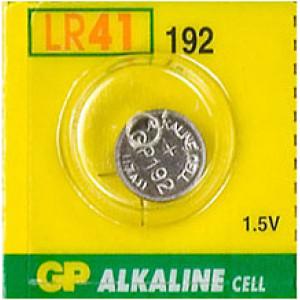 ΜΠΑΤΑΡΙΑ GP alkaline cell 1.5V 192, LR41, V3GA 1 ΤΜΧ