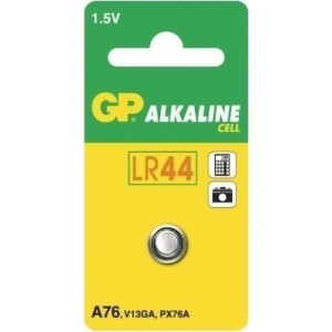 ΜΠΑΤΑΡΙΑ GP alkaline cell 1.5V A76, LR44, V13GA 1 ΤΜΧ