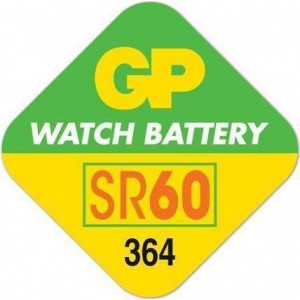 GP Batteries Ultra 1.55V (364/363 - SR60) (1τμχ)