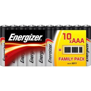 ΜΠΑΤΑΡΙΑ ENERGIZER ΑΛΚΑΛΙΚΗ AAA-LR03 FAMILY PACK 10