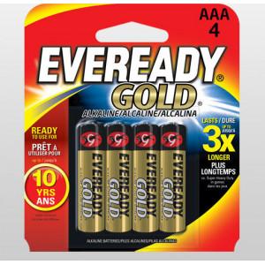 EVEREADY GOLD ΑΛΚΑΛΙΚΗ AAA-LR03 4 ΤΕΜΑΧΙΑ