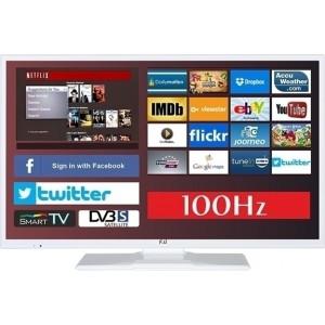 ΤΗΛΕΟΡΑΣΗ F&U 32 ΙΝΤΣΩΝ - SMART TV FLS32799NSWH 100HZ  NETFLIX  ΛΕΥΚΗ  SL  (ΕΩΣ 6 ΑΤΟΚΕΣ ΔΟΣΕΙΣ)