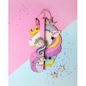 "LifeLikes: Λαμπάδα με κρεμαστό διακοσμητικό ""Μονόκερος"" ζωγραφιστός 04.21.00.602.1825"