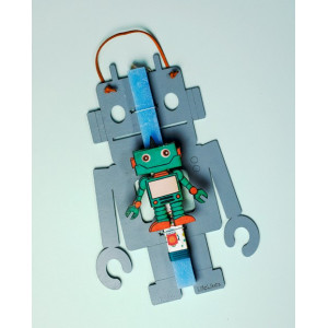 LifeLikes: Λαμπάδα με κρεμαστό διακοσμητικό Ρομποτ 04.21.00.606.1812