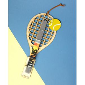 LifeLikes: Λαμπάδα με κρεμαστό διακοσμητικό Tennis Κίτρινο 04.21.00.608.1853