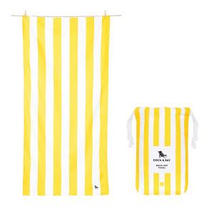 Dock & Bay Πετσέτα Quick Dry Boracay Yellow 0637390984261