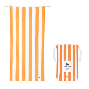 Dock & Bay Πετσέτα Quick Dry Ipanema Orange 0637390984278
