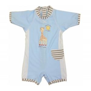 Mayoparasol Ολόσωμο μπλε μαγιό με UV προστασία για αγόρι Sophie la Girafe 40923-40924