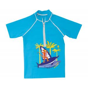 Mayoparasol Μπλούζα με UV προστασία κοντό μανίκι Dauphin Surf 42677
