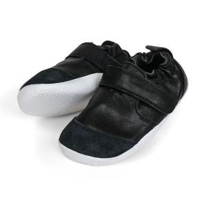 Bobux: Step up (No: 19-21) Xplorer Marvel Dress Shoe Rose Black 501206-20