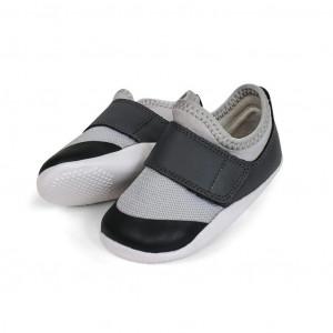 Bobux: Step up (No: 19-21) Xplorer Dimension II Trainer Grey + Charcoal 501406